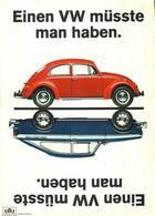 Einen VW Müsste Man Haben. | Print Ads
