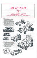 Matchbox USA Magazine November 2017 | Magazines & Periodicals