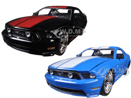 2010 Ford Mustang GT 2 Cars Sets | Model Vehicle Sets