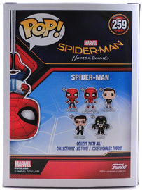 Spider-Man - Homecoming (Upside Down) | Vinyl Art Toys | Spider-Man Homecoming (Upside Down) Back