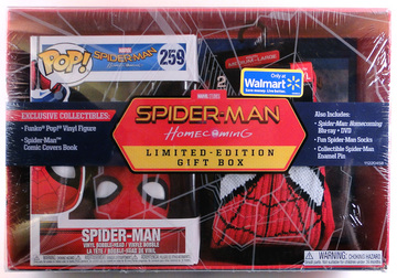 Spider-Man: Homecoming Limited Edition Gift Box | Audiovisual Recordings (VHS, DVD, Film Reels, etc.) | Spider-Man: Homecoming Gift Box (Front)