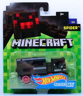 Spider | Model Trucks | HW 2017 - Minecraft Character Cars 5/6 - Spider - Metallic Dark Gray