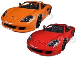 2005 Porsche Carrera GT 2 cars set | Model Vehicle Sets