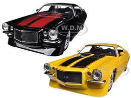 1971 Chevrolet Camaro SS 2 Car Set | Model Vehicle Sets
