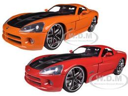 2008 Dodge Viper SRT10 2 Car Set | Model Vehicle Sets