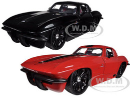 1963 Chevrolet Corvette z06 2 Car Set | Model Vehicle Sets