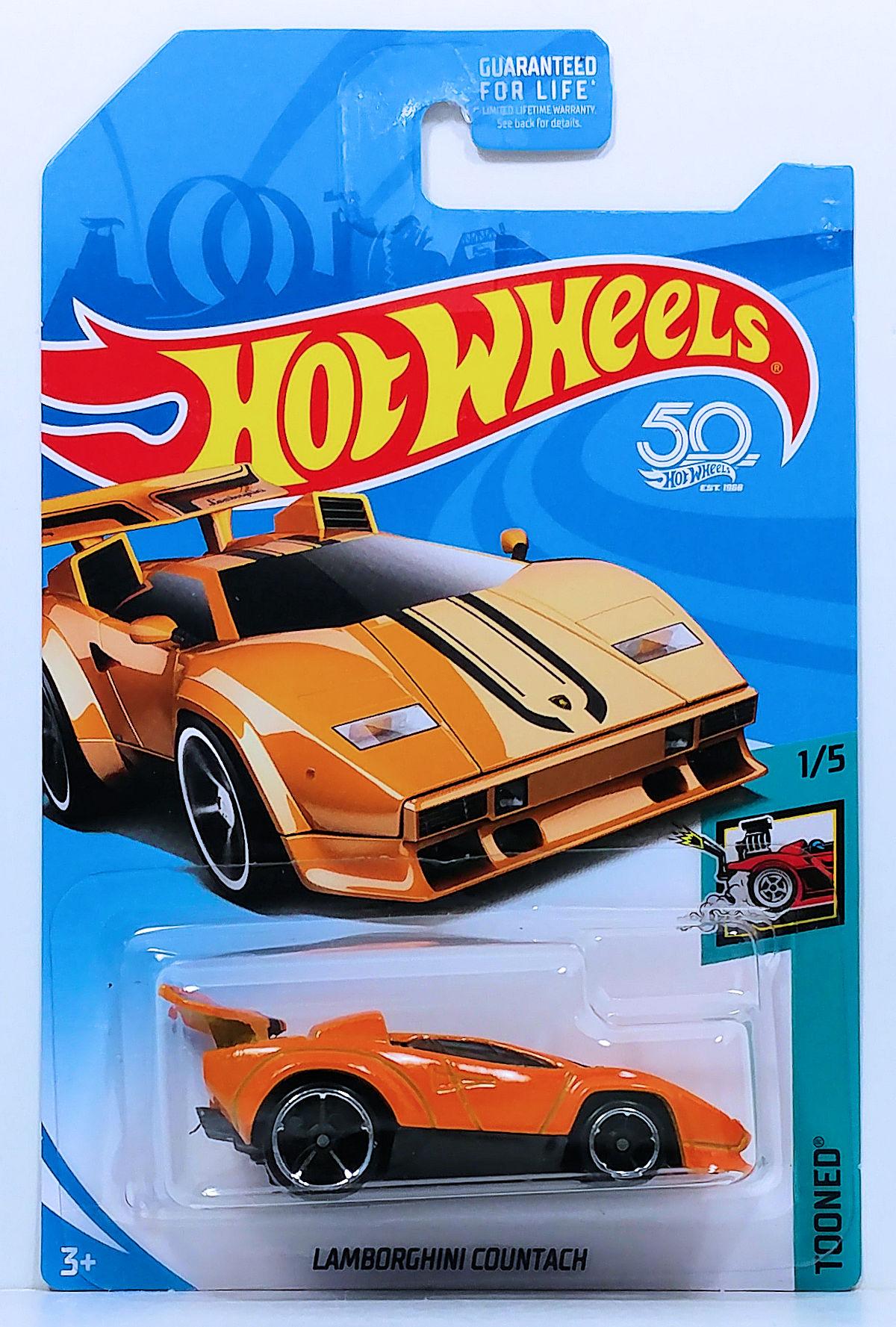 lamborghini countach (tooned) | model cars | hobbydb