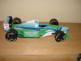 Benetton ford b194   michael schumacher   1994 model racing cars 5f9092d3 4742 44a6 adba 75d7743bf7cf medium