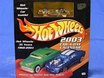 Hot Wheels 2003 Car-A-Day Calendar | Whatever Else