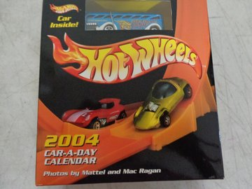 Hot Wheels 2004 Car-A-Day Calendar | Whatever Else