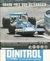 Grand Prix von Österreich 1971 | Event Programs
