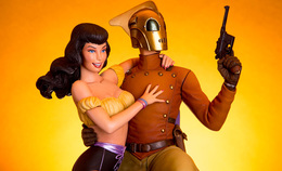 Rocketeer and Betty | Figures & Toy Soldiers