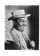 "Hal Smith ""OTIS"" The Andy Griffith Show Signed 