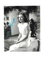 "Barbara Stanwyck ""Victoria"" in The Big Valley Autograph 