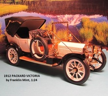 1912 Packard Victoria | Model Cars | photo: David H