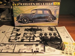 1939 Citroen 11 Cv L | Model Car Kits | photo: David H
