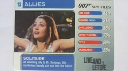 007 Spy Files #13 - Solitaire | Trading Cards (Individual)