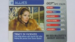007 Spy Files #12 - Tracy Di Vicenzo | Trading Cards (Individual)