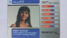 007 Spy Files #11 - Kissy Suzuki | Trading Cards (Individual)