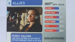 007 Spy Files #9 - Pussy Galore | Trading Cards (Individual)
