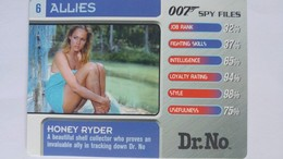 007 Spy Files #6 - Honey Ryder | Trading Cards (Individual)