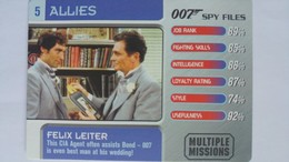 007 Spy Files #5 - Felix Leiter | Trading Cards (Individual)