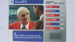 007 Spy Files #4 - Q | Trading Cards (Individual)