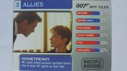 007 Spy Files #3 - Moneypenny | Trading Cards (Individual)