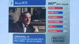 007 Spy Files #2 - Original M | Trading Cards (Individual)