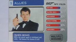 007 Spy Files #1 - James Bond | Trading Cards (Individual)