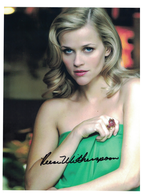 """Reese Witherspoon """"Sweet Home Alabama"""" signed with C.O.A. 