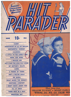 """Gene Kelly Aug 1945 Signed """"Hit Parader"""" at Oregon State Fair 