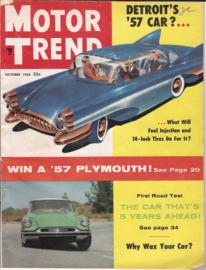 Motor Trend - October 1956 | Magazines & Periodicals