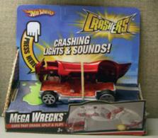 Hot Wheels Crashers Mega Wrecks Spine Buster   Model Cars