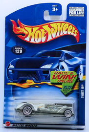 Sweet 16     | Model Cars | HW 2002 - Collector # 129/240 - Sweet 16 - White - USA Race & Win Card