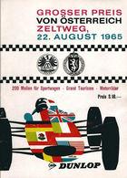 Grosser Preis von Österreich 1965 | Event Programs