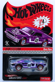 Boss Hoss | Model Cars | HW 2008 - HWC / RLC Exclusive - Toy # L8679 - Membership Car - Boss Hoss - Spectraflame Purple - Limited Edition of 7,000