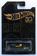 Twin Mill | Model Cars | HW 2018 - 50th Anniversary Black & Gold Collection 2/6 - Twin Mill - Matte Black - Gold OH5SP