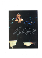 Barbara Streisand 7/9 Autographed  Cut Page | Posters & Prints