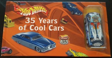Hot Wheels: 35 Years Of Cool Cars | Books