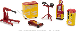 Shop Tools - Shell Oil Series 2 | Diorama Accessories