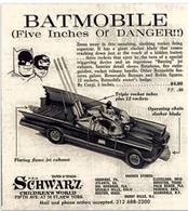 Batmobile (Five Inches Of  Danger!!) | Print Ads