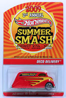 Deco Delivery | Model Trucks | HW 2009 - Summer Smash 2nd Annual - Deco Delivery - Red - Real Riders - Limited to 4,000