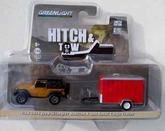 2014 Jeep Wrangler Rubicon X and Small Cargo Trailer   Model