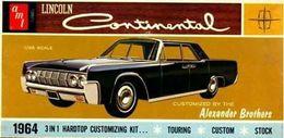 Lincoln Continental | Model Car Kits