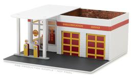 Shell Vintage Gas Station | Dioramas