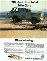 1991 australian safari 1st in class oh vot a feeling. print ads c666e241 6f26 4a9e 94fc a00a89b268cd medium