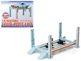 Four Post Car Lift | Diorama Accessories
