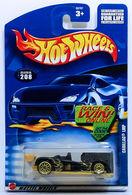 Cadillac LMP  | Model Racing Cars | HW 2001 - Collector # 208/240 - Cadillac LMP - Black - USA 'Race & Win' Card