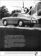 'All The Engineers And Professional Men Who Are Gran Turismo Buffs Seem To Wind Up Owning A Porsche.' | Print Ads